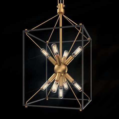 Rustic Toscano Chandelier 9 Light Shades of Light