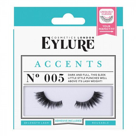 85dd3f5e56a (Multi Pack- 3 Pairs) Eylure Naturalites #020 False Eyelashes, Black. Eylure  Naturalites False Lashes Multipack - 020 Natural Black (Adhesive Included)  ...