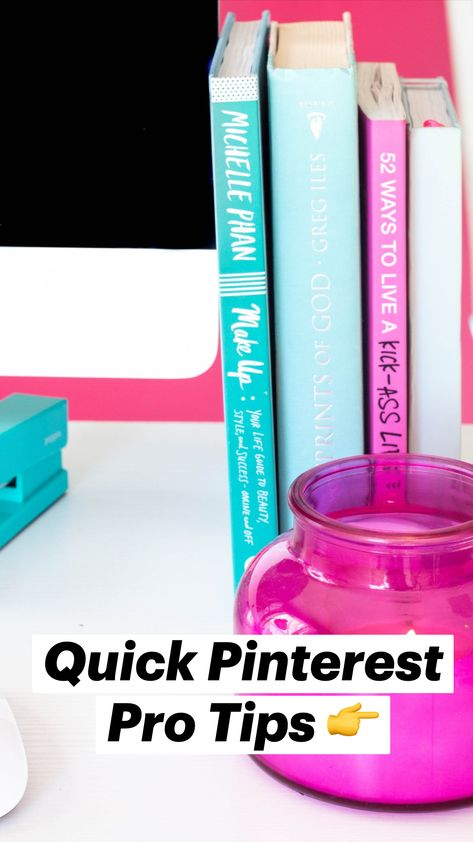 Quick Pinterest Pro Tips 👉