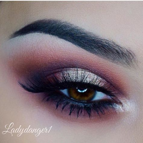 Beautiful sultry eyes @Ladydanger1 wearing Flutter® Lashes in style no. 143 synthetic lashes Brows and shadows: @Anastasiabeverlyhills Ebony dipbrow and Modern Renaissance palette ✨Visit us at FlutterLashes.com✨