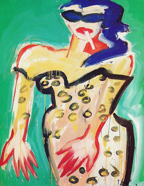 Pinturas de Elvira Bach