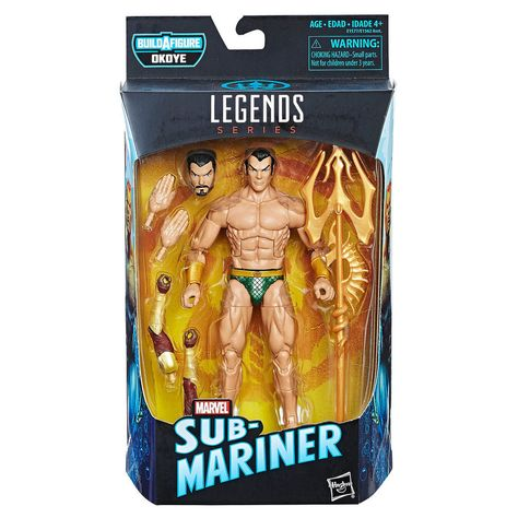 Marvel Legends 2018 Namor The Sub-Mariner NO Okoye BaF NEW!!