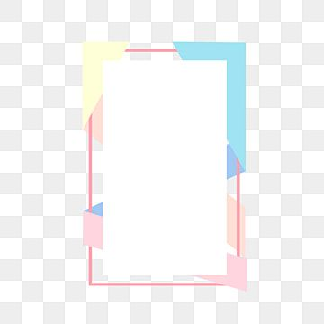 Rectangular Colored Frame Color Frame Geometric Png Transparent Clipart Image And Psd File For Free Download In 2020 Frames Design Graphic Photo Frame Design Frame
