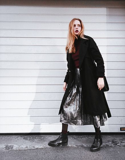 Get this look: http://lb.nu/look/8451981  More looks by Kristina Magdalina: http://lb.nu/user/913504-Kristina-M  Items in this look:  Wholesale7 Coat, Wholesale7 Skirt   #chic #minimal #street
