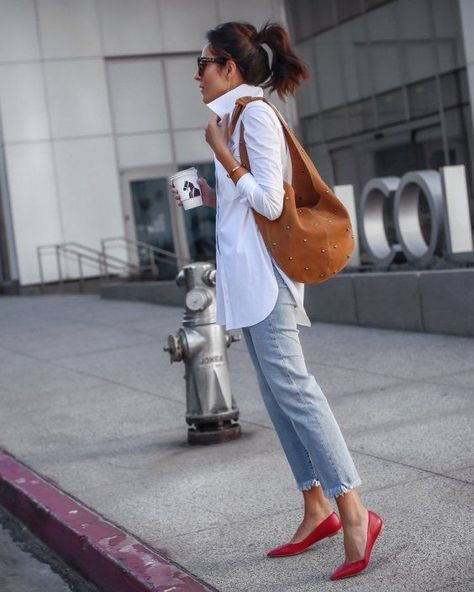 Comment porter ta chemise blanche
