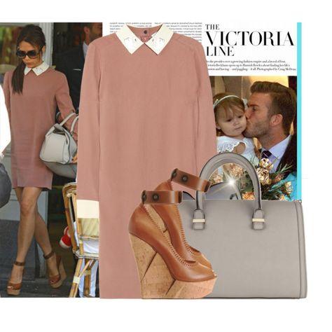 Celebrity Style:Victoria Beckham by juliak on Polyvore