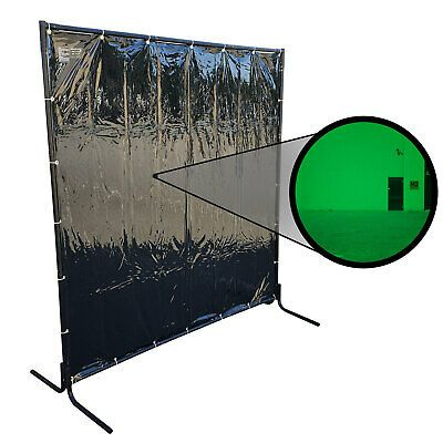 Ad Ebay Url 1 8 X 1 8m Green Welding Curtain Screen And Heavy