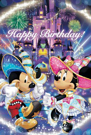 Pin By Melissa Molloy On Mickey And Minnie Happy Birthday Disney