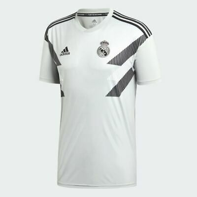 Details About Adidas Real Madrid Home Pre Match Jersey Cw5826 Soccer Training Shirt Top Tee Soccer Shirts Top Shirt Football Shirts