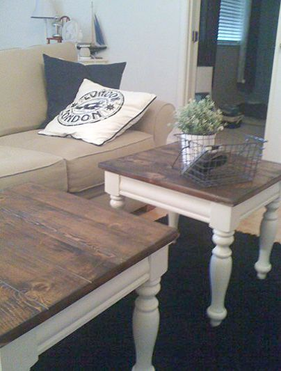 Flash Furniture Jasper Pub Table The Furniture Blogger Pine Coffee Table Coffee Table Makeover Furniture Makeover