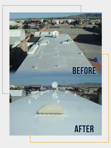 Liquid Roof Solution For Rv Roof Leaks Repair Epdm Coatings Liquid Roof Roof Leak Repair Roof