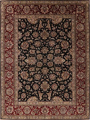 Agra Floral Dining Room Area Rug Wool Hand Knotted Oriental Carpet 9x12 9 0 X 11 10 In 2020 Wool Area Rugs Oriental Carpets Area Room Rugs