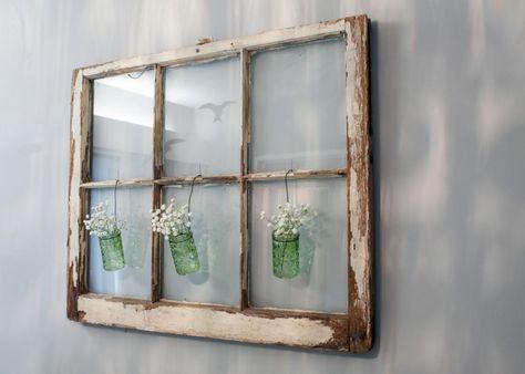 Alte Fenster Zur Dekoration Im Haus 50 Coole Ideen Alte