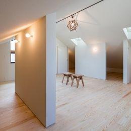 専門家 Takuya Hasegawaが手掛けた注文住宅住宅事例 空を囲む家の