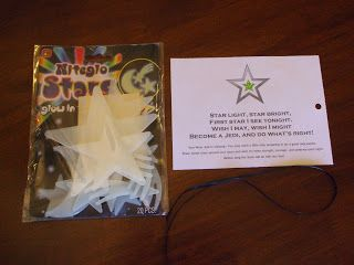 glow-in-the-dark stars for party favors