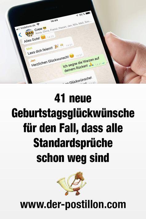 41 Neue Geburtstagsgluckwunsche Fur Den Fall Dass Alle