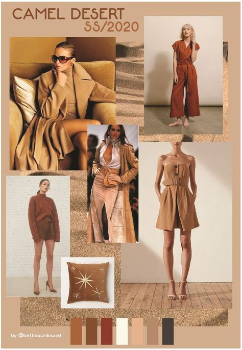 trend report ss2020 camel neutrals color preview for spring  20 spring 19 sprin ...  #camel #color #neutrals #preview #report #sprin #spring #ss2020 #trend