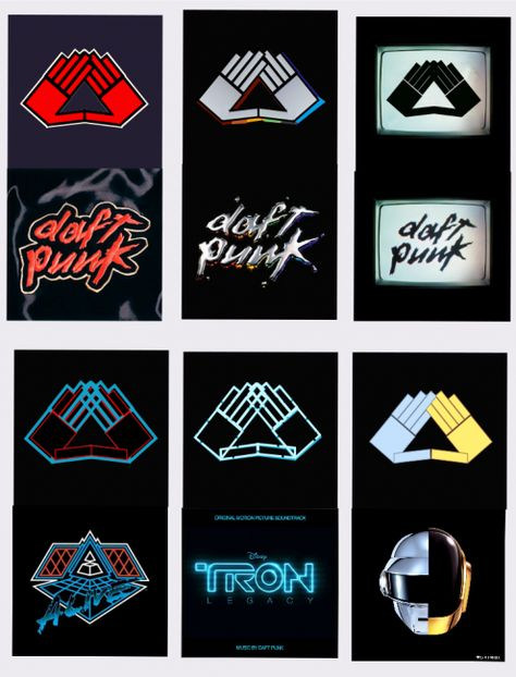 Daft Punk Pyramid Hand Gestures. I thought this was only for jay z hmmm, yeah ok
