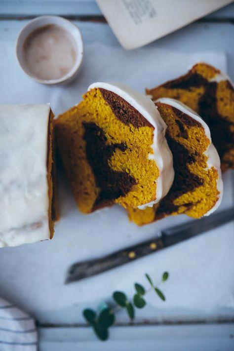 Photo of Rezept für pumpkin bread – Kürbiskuchen mit Zimtglasur