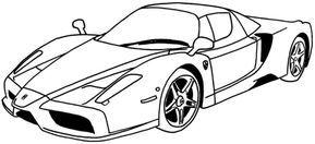 Jogo De Pintar Carros De Luxo Carros Para Colorir Carro Para