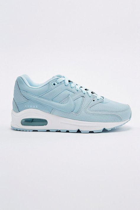 butik försäljning snygga skor auktoriserad webbplats Nike Air Max Command Premium Trainers in Ice Blue | Skor ...