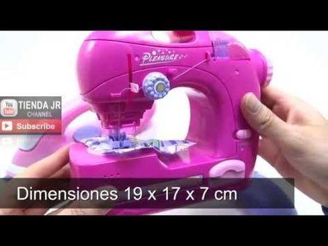 Maquina De Coser Y Plancha De Juguete Para Ninas Cose De Verdad Toy Pink Sewing Machine Youtube Juguetes Para Ninas Juguetes Para Nenas Juguetes