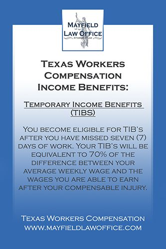 Texas Workers Compensation Worker Compensation Lifetime Income