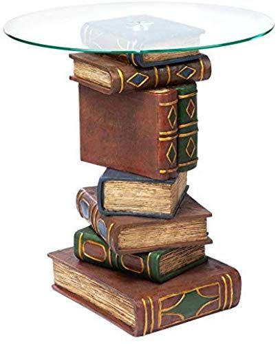 Stacked Book End Table End Tables Stack Of Books Dream Living