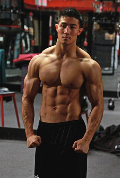 Xxx asian male bodybuilder