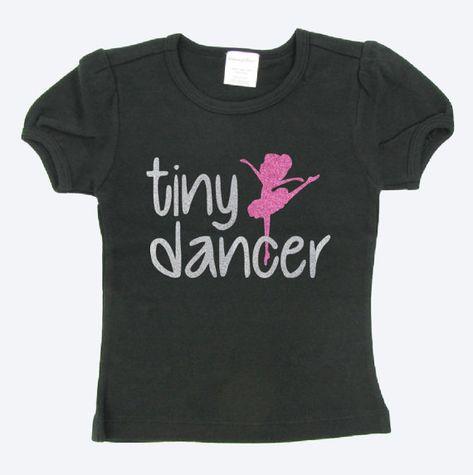 33b75761fb41 Toddler dancer shirt - dance shirt - dance tee - tiny dancer shirt ...