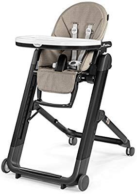 Amazon Com Peg Perego Siesta High Chair Ginger Grey Baby Peg Perego High Chair Cute Desk Chair