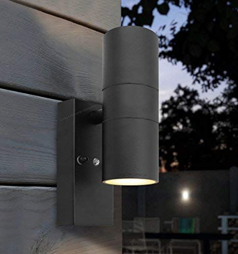 Generatorblack Outdoor Up Down Wall Light Dusk Till Dawn Sensor