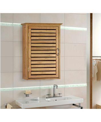 20+ Bathroom wall cabinet bamboo ideas