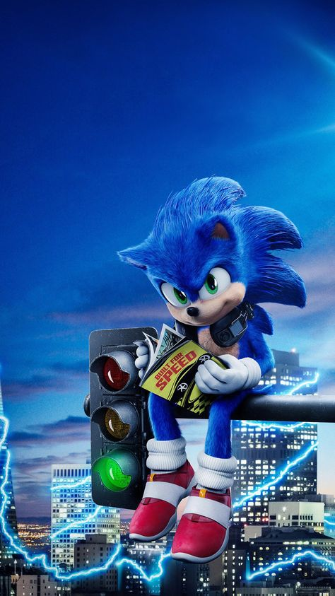 Sonic the Hedgehog (2020) Phone Wallpaper   Moviemania