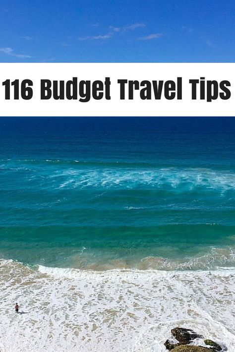 The ultimate list of tips to help you travel the world cheaply! Tips are applicable for all travel types,  you just need to find the specific ones that apply to you.