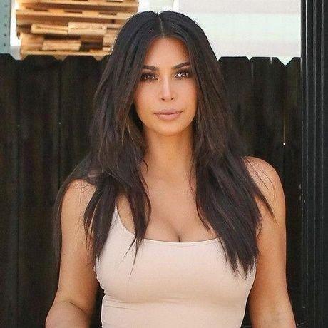 Kim K Frisuren 2018 Aesthetical Kim Kardashian Hair Kim Kardashian Haircut Kim Hair