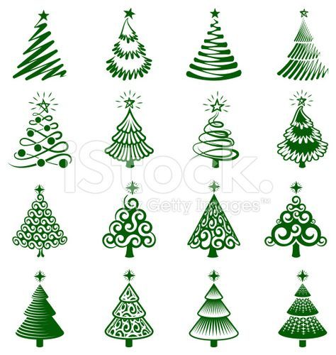 Drawing Christmas Trees Doodles 31 Ideas Tree Doodle Cool Christmas Trees Christmas Tree Collection