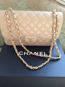 9e72fac32f93db Get one of the hottest styles of the season! The Chanel Quilted Caviar  Jumbo 2.55 Double Flap Shoulder Bag is a top 10 member favorite on Tradesy.