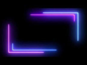 Download Mentahan Background Neon Light Keren Hd In 2021 Neon Frame Green Background Video Image Overlay