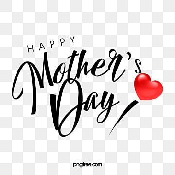 Red Love Happy Mother S Day Greetings Mothers Day Art Words Of Mothers Day Holiday Art Word Png Transparent Clipart Image And Psd File For Free Download In 2021 Happy Mother S