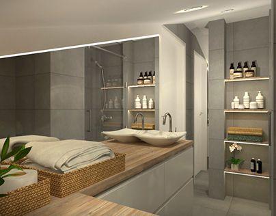 Check out new work on my behance portfolio bathroom design http