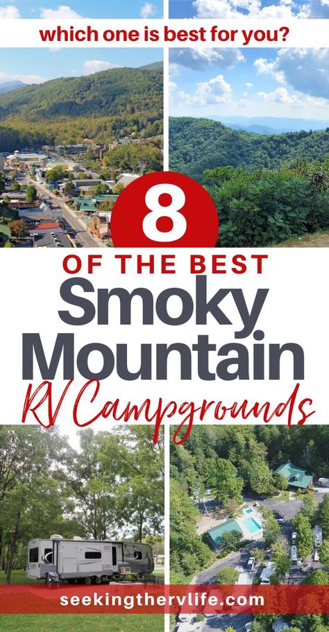 RV Campgrounds in Smoky Mountains - Seeking The RV Life