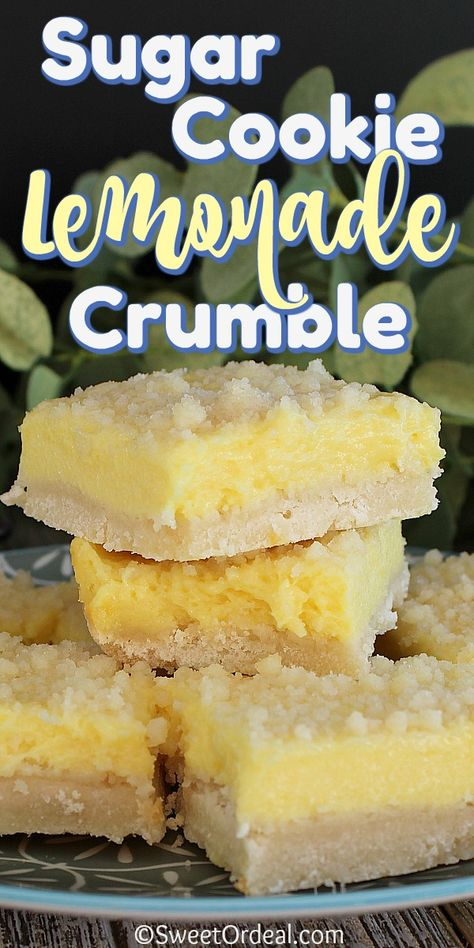 Lemon Desserts, Lemon Recipes, Köstliche Desserts, Baking Recipes, Sweet Recipes, Cookie Recipes, Delicious Desserts, Dessert Recipes, Yummy Food