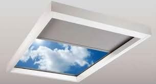 Skylight Shades Maximize The View When Open Lutron Motorized