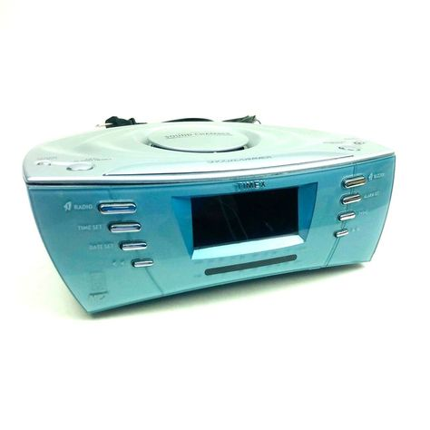 Timex T439s Dual Alarm Clock Radio With