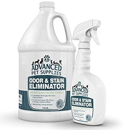 Advanced Pet Supplies Odor Eliminator And Stain Remover Carpet Cleaner With Odor Control Technology Cat Urine In 2020 Stain Remover Carpet Pet Supplies Stain Remover