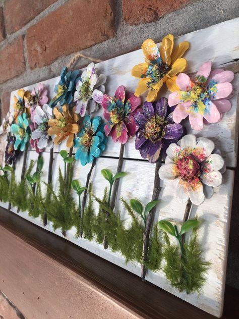 99 Ideas De Cuadro Flor De Pino Manualidades Con Piñas Artesanía Con Piña Flores De Piña