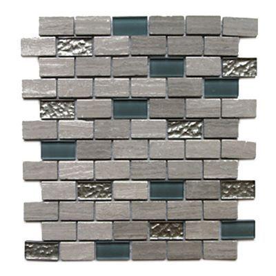 Mosaique Mur Mix Pierre 30 X 30 Cm Benito Parement Mural Castorama Mosaique
