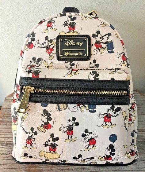 Vans Old Skool Mochila Disney Mickey Através Dos Tempos
