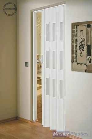 Concertina Accordian Doors To Divide Laundry Room Dog Area By